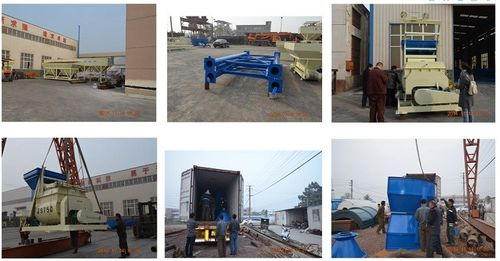 Smaller 35m3/h concrete batching plant to Myanmar