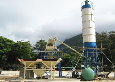 Bucket Type Concrete Batch Plant High Efficiency With Fully Automatic Control System