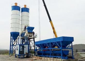 China 50m3/H Stationary Aggregate Ready Mix Concrete Batching Plant CE ISO Approval supplier