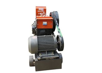Compact Structure Rebar Cutting Machine / Portable Rebar Cutter 3kw Motor Power