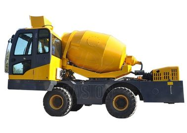 Heavy Duty Cement Mixer Machine Truck With Self Priming Water Sysytem