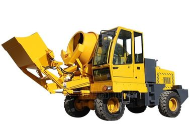 2.5M3 Hydraulic Self Loading Concrete Mixer Construction Equipment 16MPa Max Pressure
