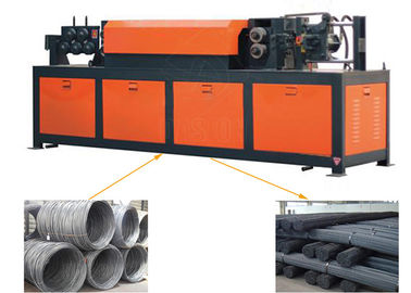 Automatic Hydraulic Flat Steel Rebar Straightening Cutting Machine 160x66x95cm