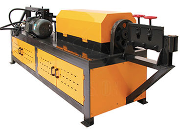 Steel Wire Rebar Straightener Machine Cast Steel Clip With PLC Control System