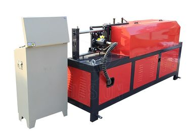 Hydraulic Angle Rod Rebar Straightening Machine Cast Steel Clip 7.5kw Motor Power