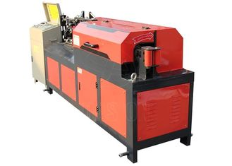 Automatic 6 - 12mm Rebar Straightening Machine 7.5kw Motor Power Cast Steel Clip