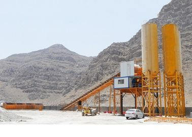 Electric System Concrete Mixing Plant Belt Type Concrete Batching Plant