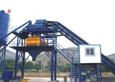 60m3/H Ready Mix Concrete Plant Concrete Batching Plant For Road Construction