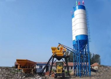 Fully Automated Bucket Type Concrete Batch Plant Simple Large Capacity 75m3/H