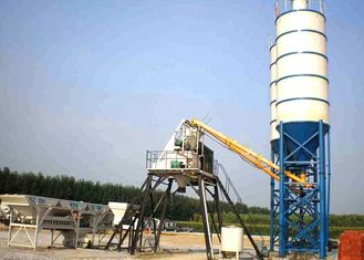 Automatic Concrete Batching Plant Electrical Ready Mixed Easy Installation