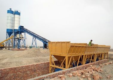 Belt Conveyor Cement Batching Plant Ready Mixed Concrete Mixing Plant 90m3/H Capacity