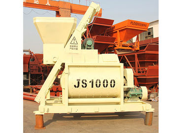 50m3/H Stationary Concrete Mixer Machine Horizontal 1600L Charging Capacity