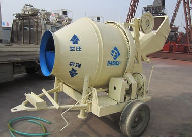 Construction Mobile Electric Concrete Mixer Rotating Climbing Tipping Bucket JZC450
