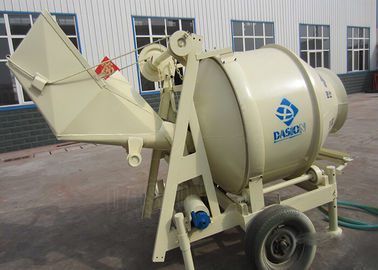 5.5kw Mixing Motor Portable Concrete Mixer 560L Charging Volume Heavy Duty