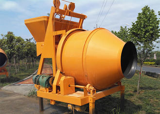 450L Mobile Portable Concrete Mixer 11kw Mixing Motor With 1900kg Weight