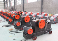 China Industrial Automatic Electric Rebar Cutter Deformed Reinforcement Bar Cutting Machine company