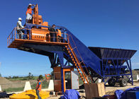 China 50m3 Ready Mix Mobile Concrete Plant Fully Automatic With Washing Function company