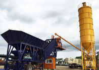China Simple Cement Admixture Mobile Belt Type Transit Mix Plant 50m3/H CE ISO Approved company