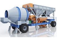 China 30m3 Portable Concrete Batch Mix Plant Ready Mix High Efficiency Simple Structure company